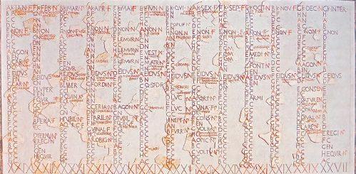 Fasti ローマのカレンダー