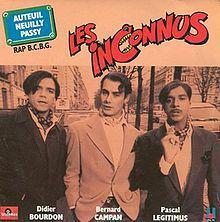 Les Inconnus【知られざる者たち-コメディアン】