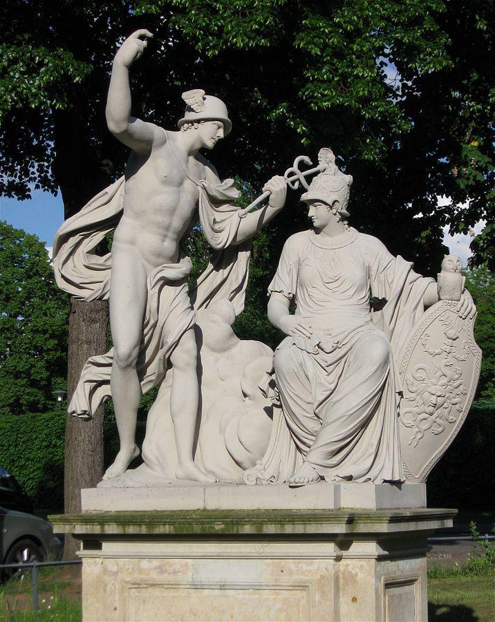 Mercurius et Minerva【メルクリウスとミネルウァ】